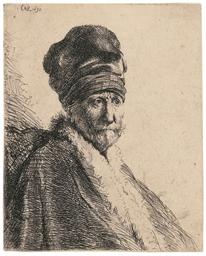 Bust of a Man wearing a High C