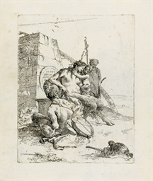 Satyr Family with the Obelisk,