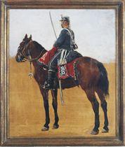 A Sergant of the Danish Guard Hussars