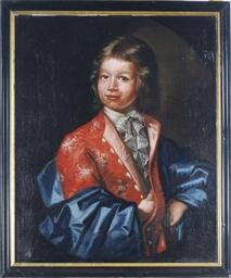 Portrait of a Boy, three-quart