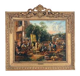 A village market