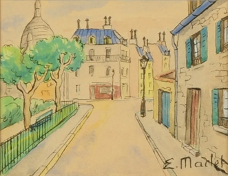A square in Montmartre