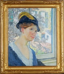 Self-Portrait by a window in B