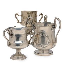 THREE AMERICAN SILVER TROPHY C
