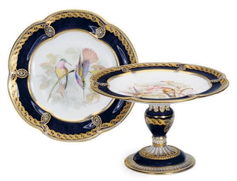 AN ENGLISH PORCELAIN SEVRES-ST