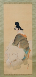 A JAPANESE HANGING SCROLL: THE