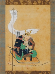 A JAPANESE HANGING SCROLL PORT