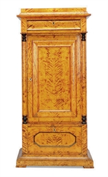 A BIEDERMEIER STAINED BIRCH AN