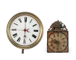 TWO NORTH EUROPEAN WALL CLOCKS