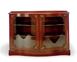 A GEORGE III MAHOGANY AND PAIN
