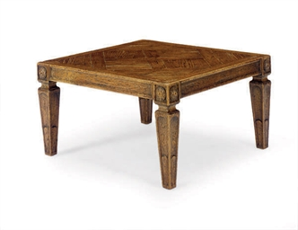 A CONTINENTAL OAK LOW TABLE,