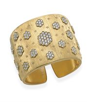 A DIAMOND AND GOLD BRACELET, BY BUCCELLATI