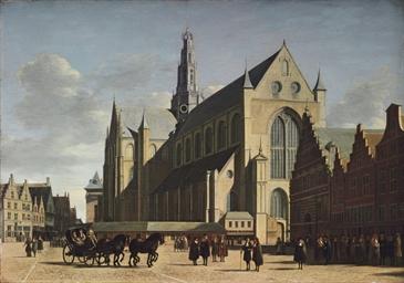 The Grote Markt, Haarlem, look