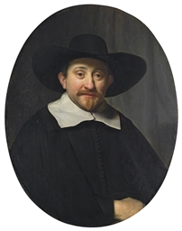 Portrait of a man, half-length
