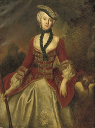 Portrait of Countess Sophie Ma