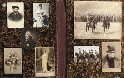 A PHOTO CARD OF EMPEROR WILHEL