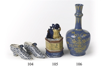 A Dutch Delft small blue-groun