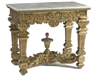 A NORTH-EUROPEAN GILTWOOD CONS