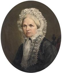 A portrait of Helene Duchess v