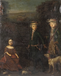 A family portrait of Heinrich
