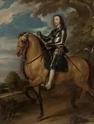 Equestrian portrait of King Ch