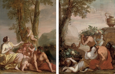 A bacchanal; and An amorous co
