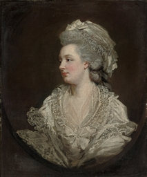 Portrait of Mary Baylay, née F