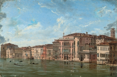 A view of the Grand Canal, Ven