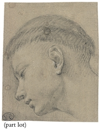 Head of a monk in profile