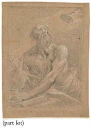 A group of ten drawings by var