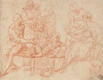 Saint Peter healing the cripple