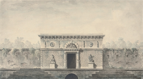 Design for a war memorial with