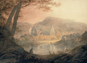 Tintern Abbey on the Wye, Monm