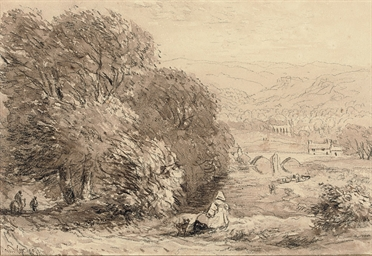 A Welsh landscape, possibly Ti