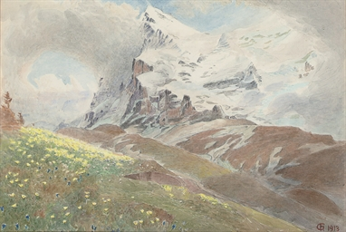 The Eiger from the Wengern Alp