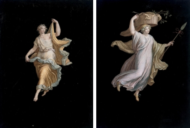 Pompeian allegorical figures