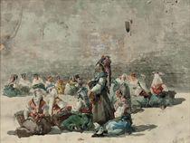 Spanish ladies at market