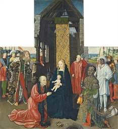 The Adoration of the Magi - a