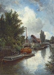 Shipyard on the Schie, near De