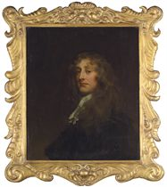 Portrait of a gentleman, bust-length, in a dark doublet and white stock