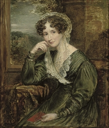 Portrait of Madame de Wouters,