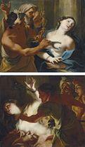 The Martyrdom of Saint Agatha; and The Martyrdom of Saint Bibiana