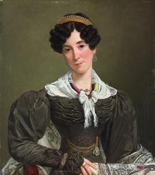 Portrait of Victoire du Bois,