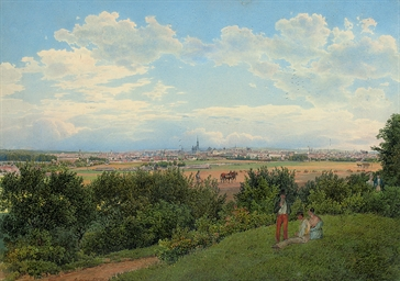 View of Vienna from the Prater