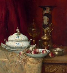 Still life with elegant object