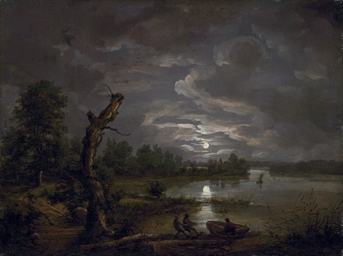 Lake Esrom by Moonlight