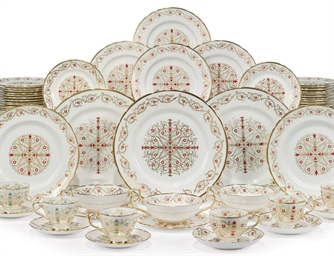 AN ENGLISH (TUSCAN CHINA) COMP