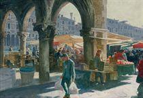 Fish and Fruit Market, Venice