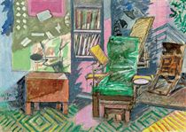 Studio and Green Chair