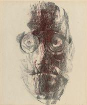 Study towards an image of James Joyce